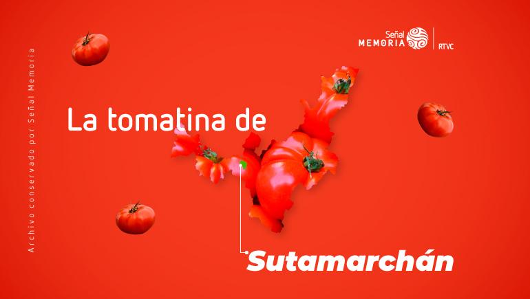 tomatina de Sutamarchán