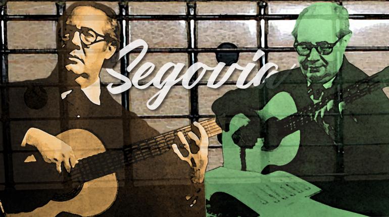 Andrés Segovia el guitarrista clásico más importante del siglo XX