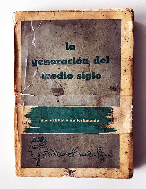 Portada libro La generación del medio siglo