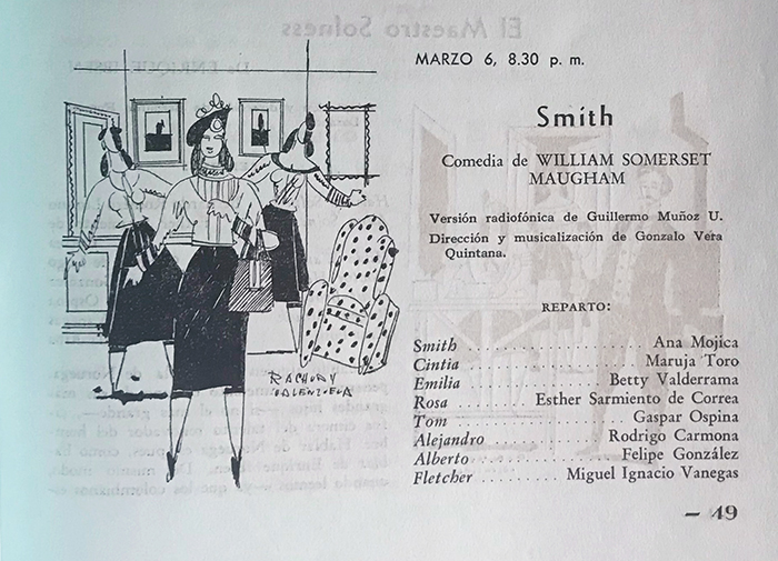 Radioteatro Smith William Somerset Maugham