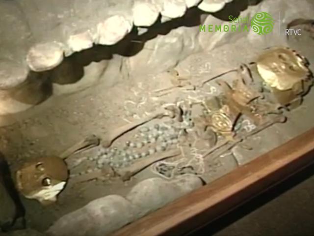 Piezas arqueológicas de la cultura Malagana.