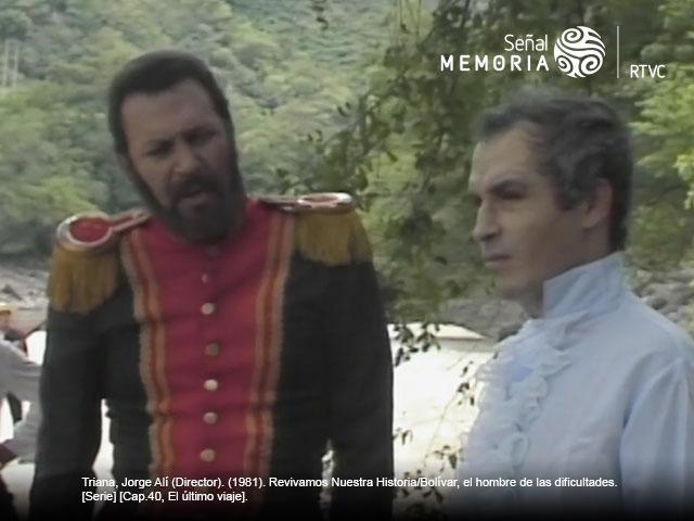 Bolívar y Joaquín Posada