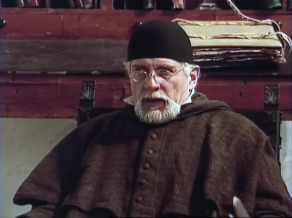 Alejandro Buenaventura como el Sabio Mutis
