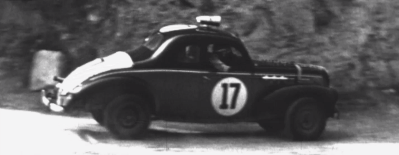 Carro de carreras Colombia década de 1960