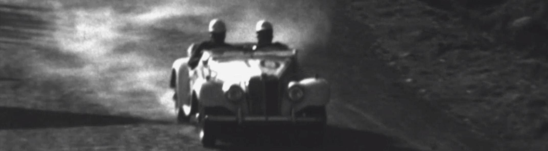 Carrera de automovilismo en Colombia década 60