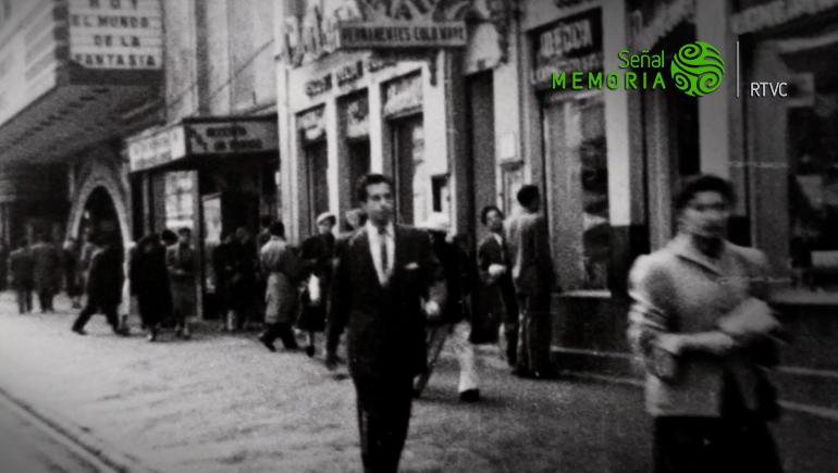 Recorrido por Bogotá en los años 50