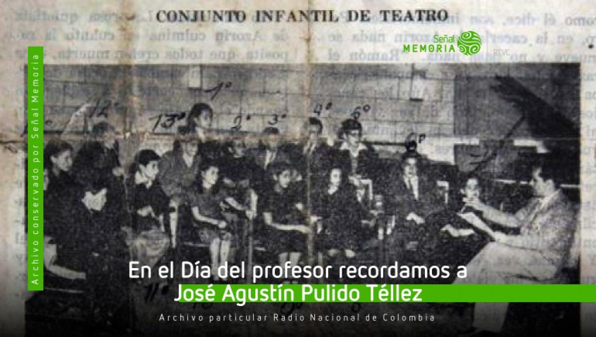 imagen hallada en el Boletín de la Radiodifusora Nacional de Colombia en diciembre de 1948