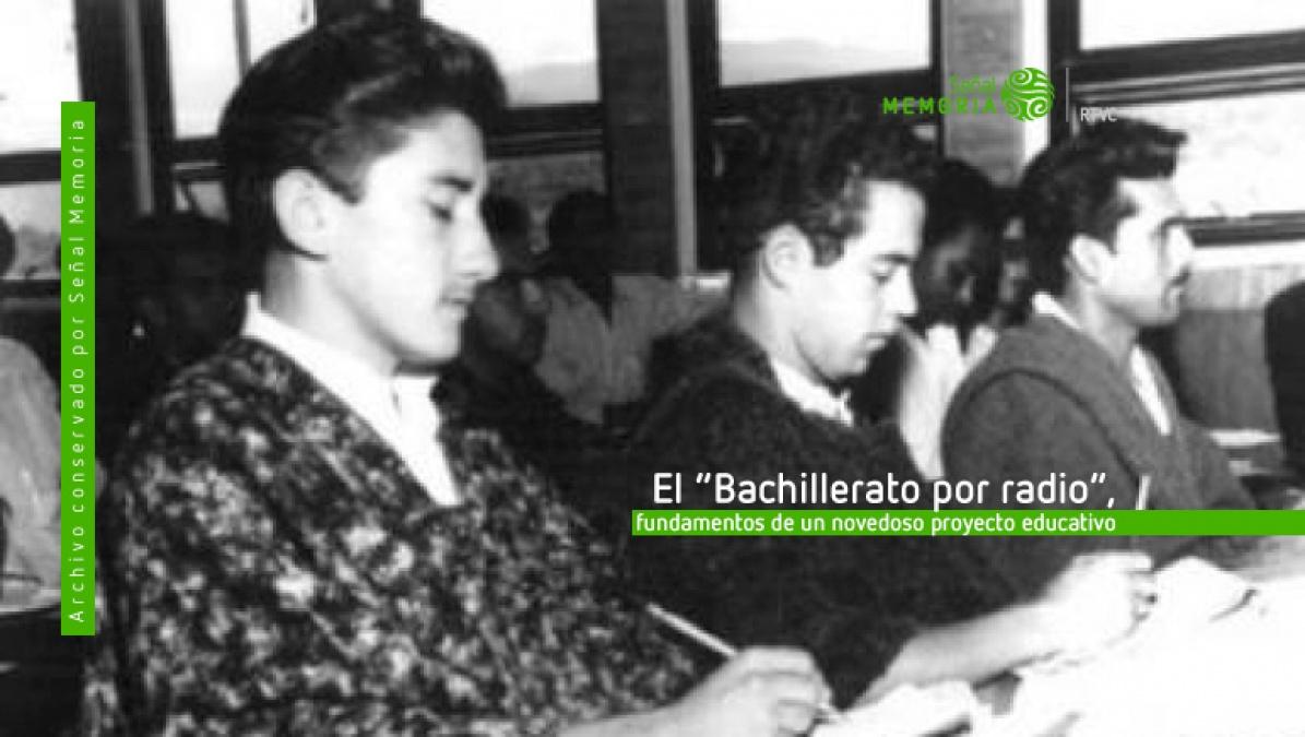 Bachillerato por radio en Colombia