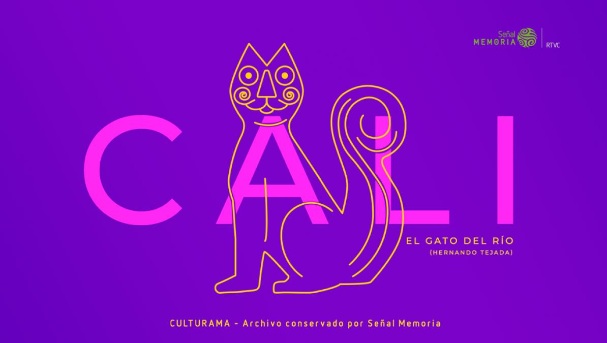 Pieza gráfica Gato del Río