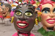 Carnaval de Negros y Blancos - Pasto / Cabezas de papel maché