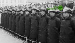 los bomberos de Bogotá