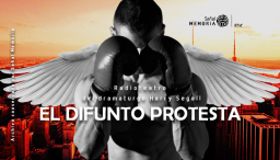 el difunto protesta