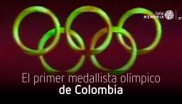 primera medalla olímpica para Colombia