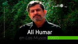retrato del actor colombiano, Alí Humar