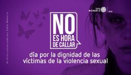 día por la dignidad de las víctimas de la violencia sexual