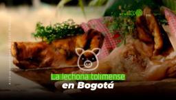 foto de la lechona en Bogotá