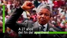 Retrato Nelson Mandela. Fin del apartheid en Sudáfrica