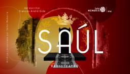 gráfica sobre la obra Saúl del escritor francés, André Gide.