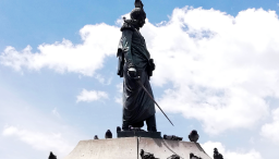 Monumento a Simón Bolívar de Pietro Tenerani - Foto: Felipe Arias
