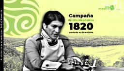 La Campaña del Río Magdalena de 1820