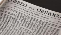Fuente fotos: Señal Memoria tomado de: Correo del Orinoco: Angostura (Venezuela) 1818 - 1821, Bucaramanga: Gerardo Rivas Moreno 1998, edición facsimilar.