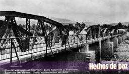Puente Simón Bolívar - Imagen recopilada por Gastón Bermúdez V.