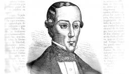 Luis Vargas Tejada, grabado de Antonio Rodíguez - 1881