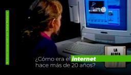 Día mundial del internet. Cómo era hace 20 años