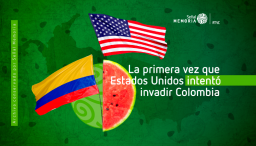invasion a Colombia incidente de la tajada de sandía