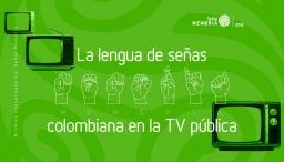 lenguaje de señas en la tv pública