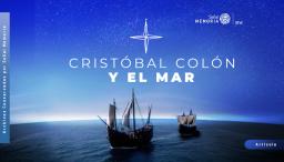 Cristóbal Colón y el mar