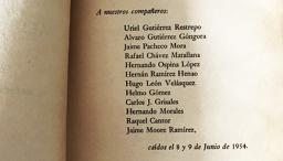 Estudiantes caídos el 8 y 9 de junio de 1954