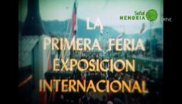 Primera Feria de Exposición Internacional