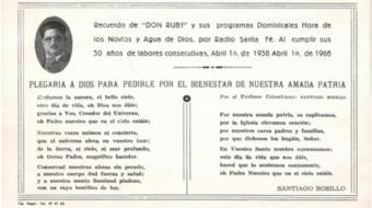Archivo personal de Ana María Lara