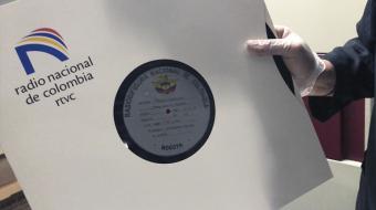 Disco de la Radiodifusora Nacional de Colombia