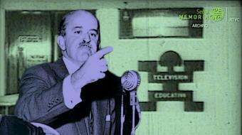 Palabras de Guillermo León Valencia sobre la televisión educativa en Colombia