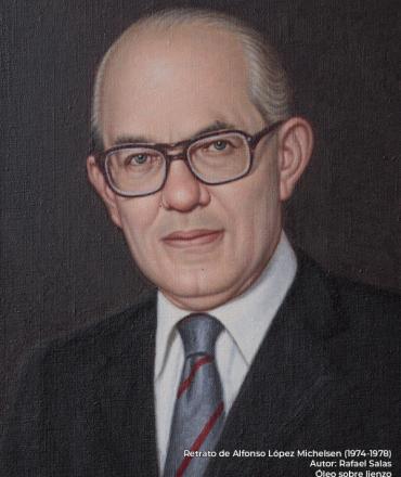 Alfonso López Michelsen. Rafael Salas (s.f.)