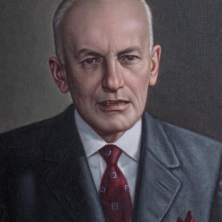 Alberto Lleras Camargo. Rafael Salas (s.f.)