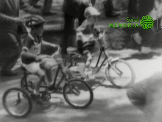 Ciclismo infantil en el Parque Nacional