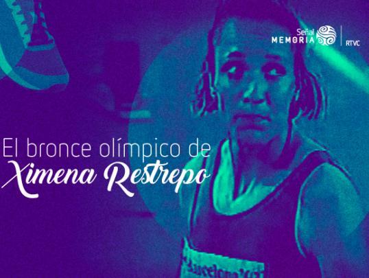 Ximena Restrepo, atleta antioqueña