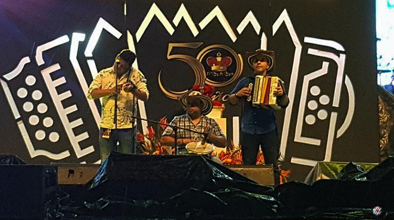 Tarima Festival de la Leyenda Vallenata 2017