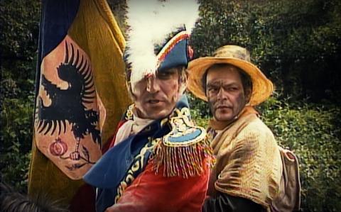 El Sastre Jacobo acompañando a Antonio Nariño