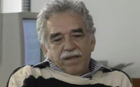 """Gabriel García Márquez - Fotograma del programa """"Esta es su vida"""""""