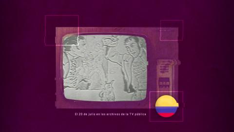 El 20 de julio en los archivos de la TV pública