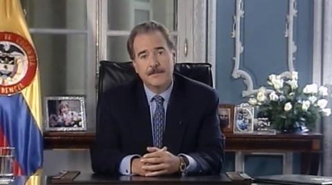 Presidente de Colombia Andrés Pastrana 57.º (1998-2002)