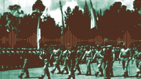 El Batallón Colombia partió del país