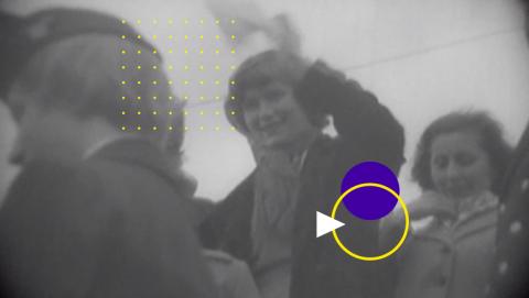 Cómo cubrieron los medios la caída del muro de Berlín
