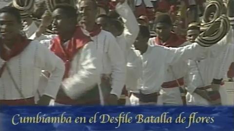 Cumbiamba en la Batalla de las Flores Carnaval de Barranquilla