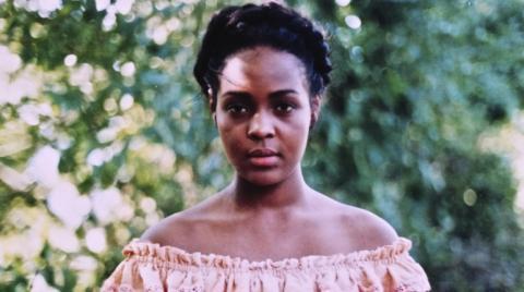 Felipa Escudero interpretada por Magaly Caicedo en el telefilme Amores ilícitos