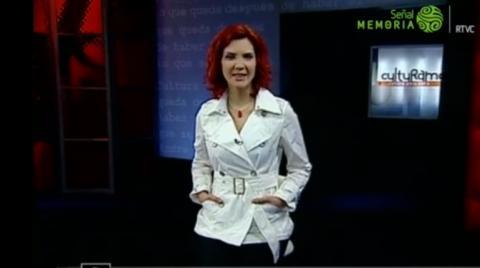 Presentadora Margarita Ortega